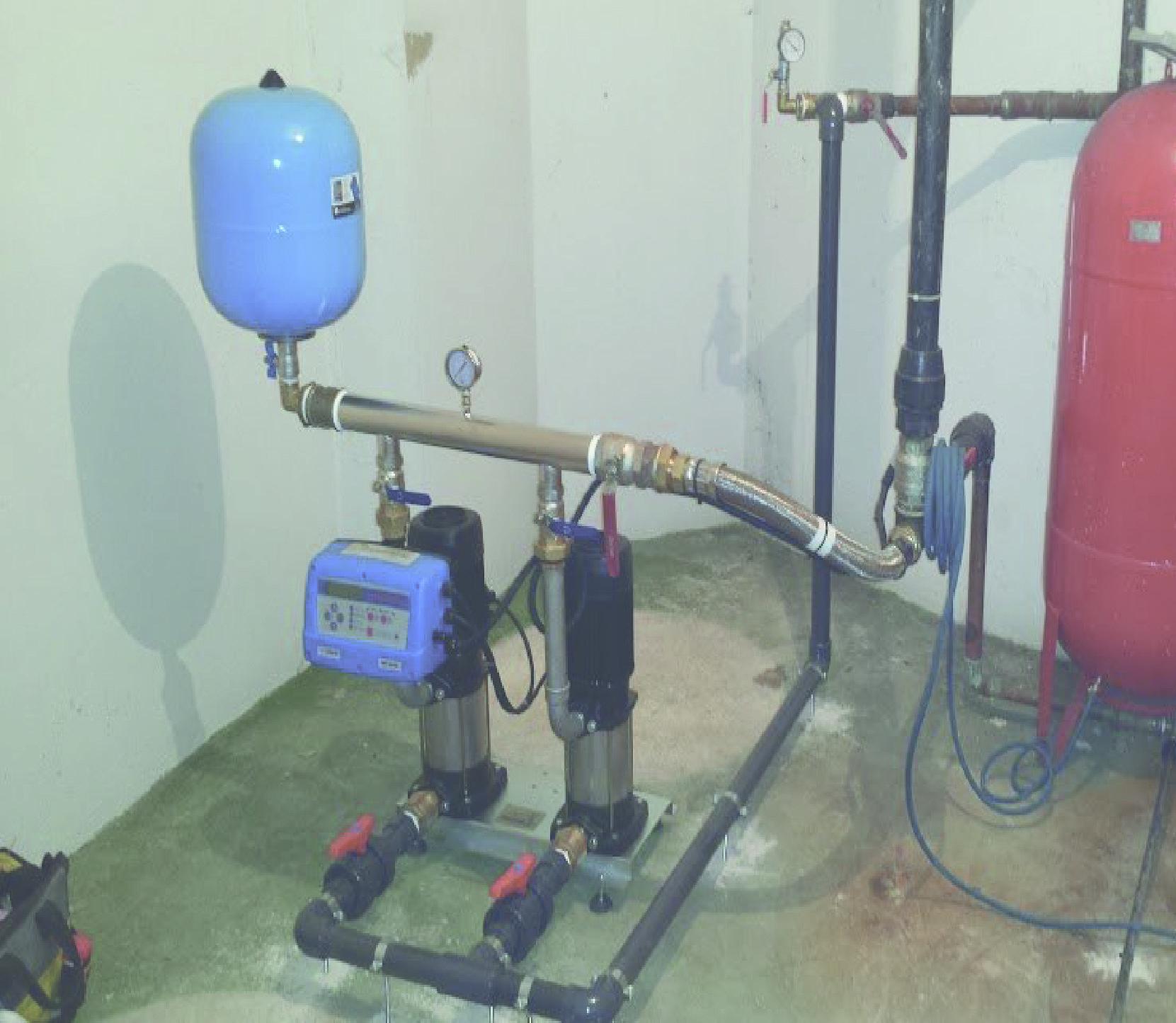 Instalaci n serviconta heragua for Grupo de presion de agua para edificios