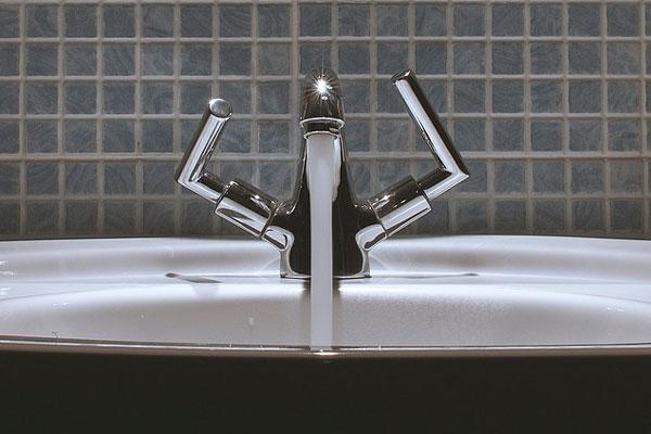 contador de agua de chorro único